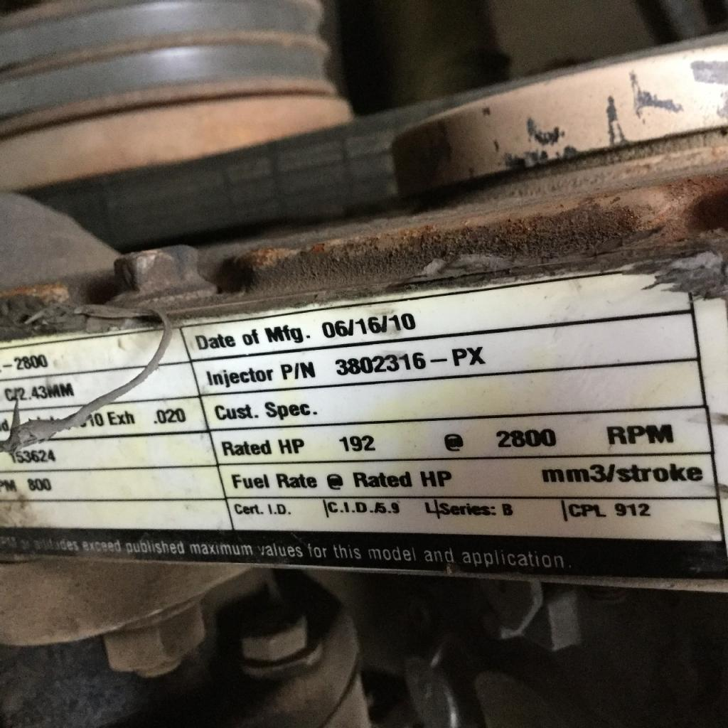Used Engine Assembly for 1992 LINK-BELT HTC830 6500.00 for sale-57191761