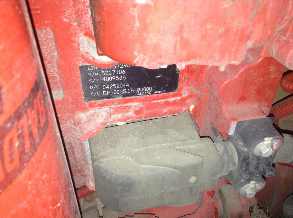 Used Engine Assembly for 2015 INTERNATIONAL PROSTAR 17500.00 for sale-57198321