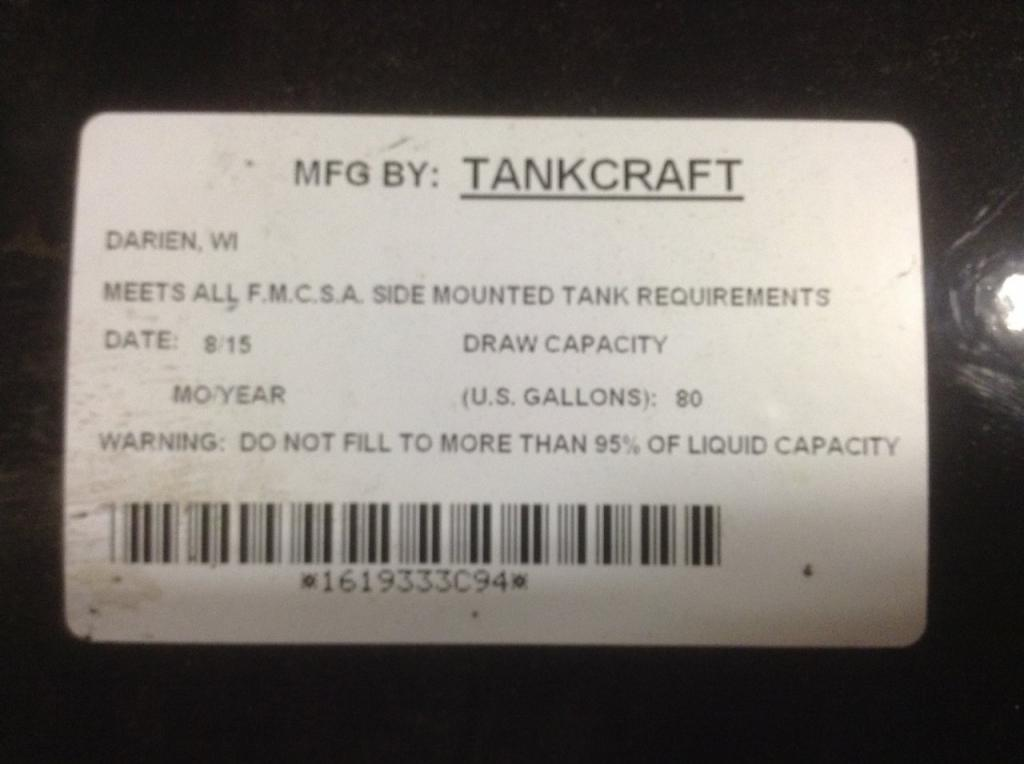 New Fuel Tank for 2006 INTERNATIONAL 8600 450.00 for sale-57283951
