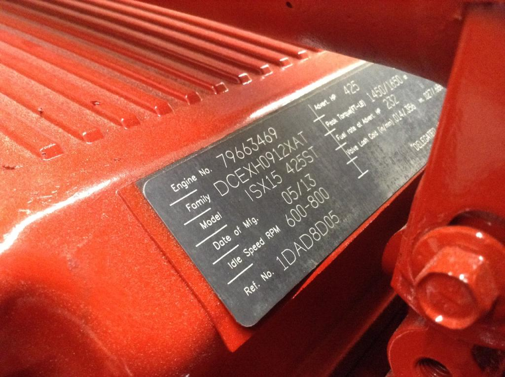 Used Engine Assembly for 2014 INTERNATIONAL PROSTAR 15500.00 for sale-57196531