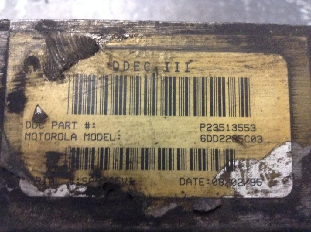 Used Engine Control Module (ECM) for 1993 VOLVO WG 400.00 for sale-57203711