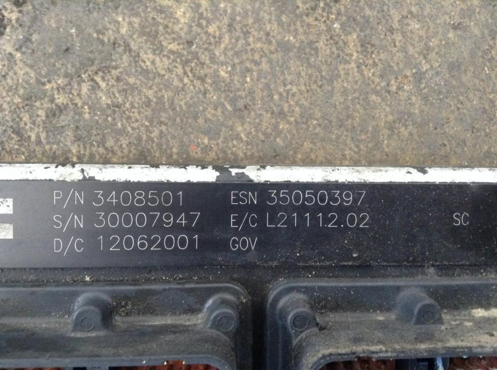 Used Engine Control Module (ECM) for 2002 KENWORTH T800 1000.00 for sale-57203781