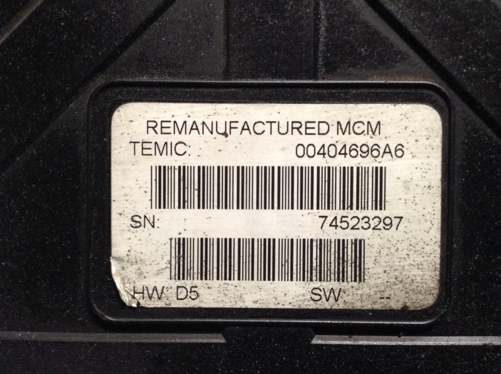 Engine Control Module (ECM) for 2009 FREIGHTLINER COLUMBIA 120 1000.00 for sale-57203791