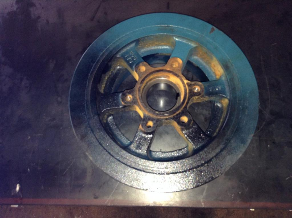 Used Engine Harmonic Balancer for 2004 INTERNATIONAL TRUCK 175.00 for sale-57205861