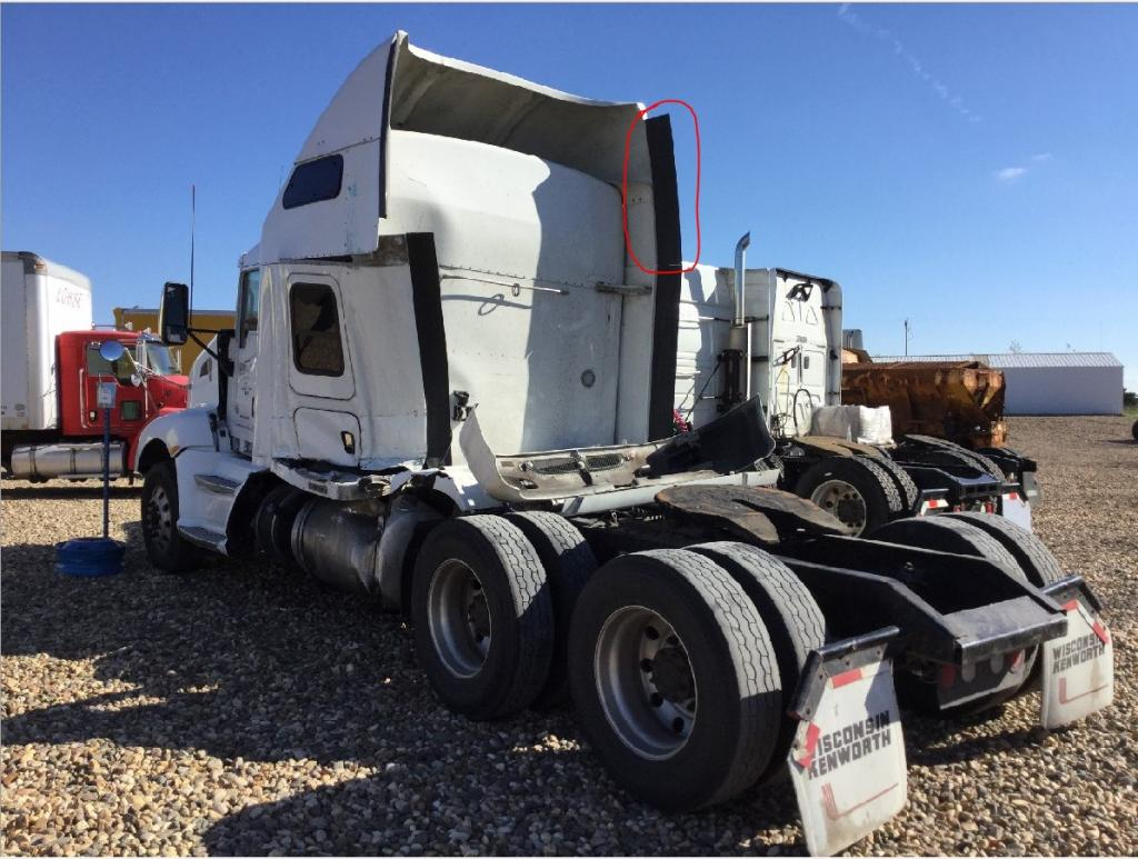 Used Fairing for 2013 KENWORTH T660 75.00 for sale-57230881