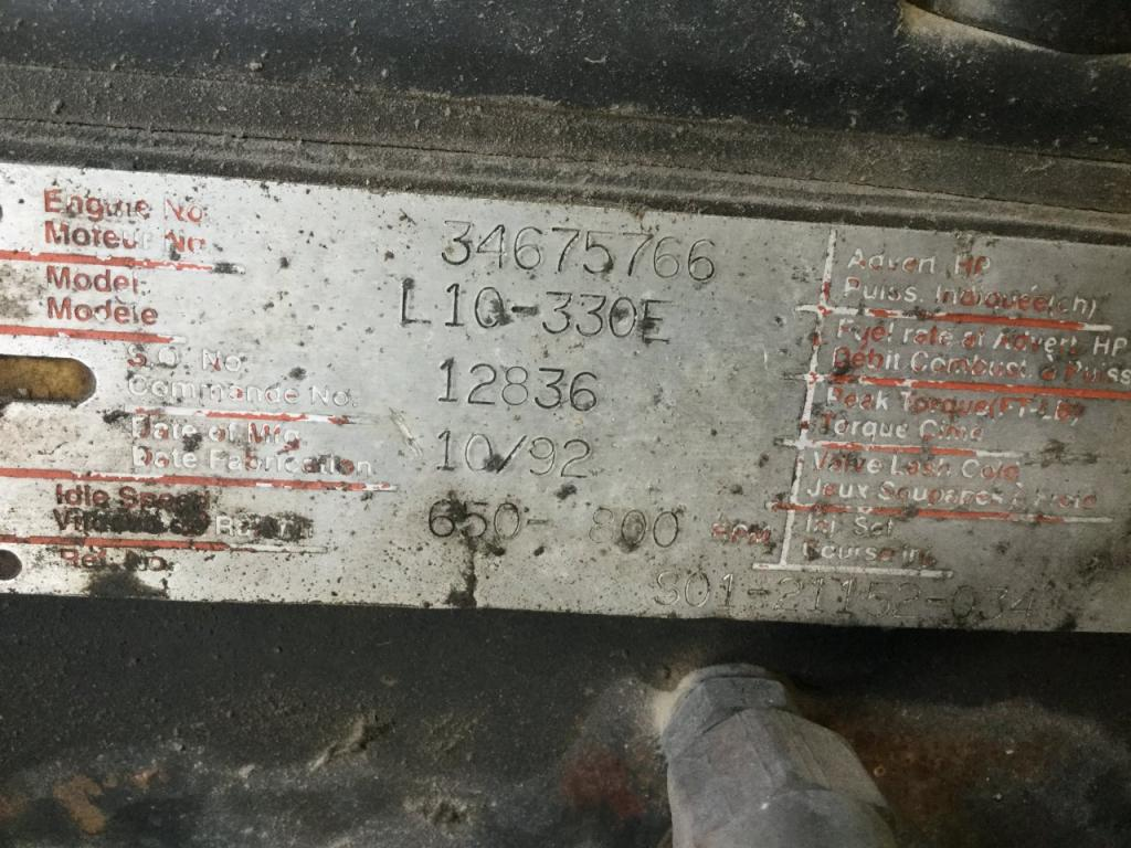 Used Engine Assembly for 1993 FREIGHTLINER FLD112 3500.00 for sale-57193611