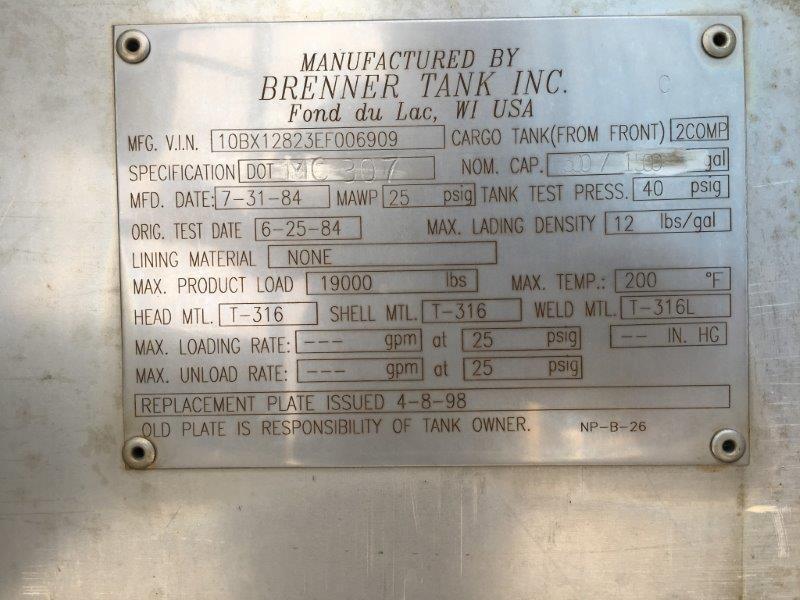 Used Engine Assembly for 1998 MACK CS MIDLINER 3500.00 for sale-57192311