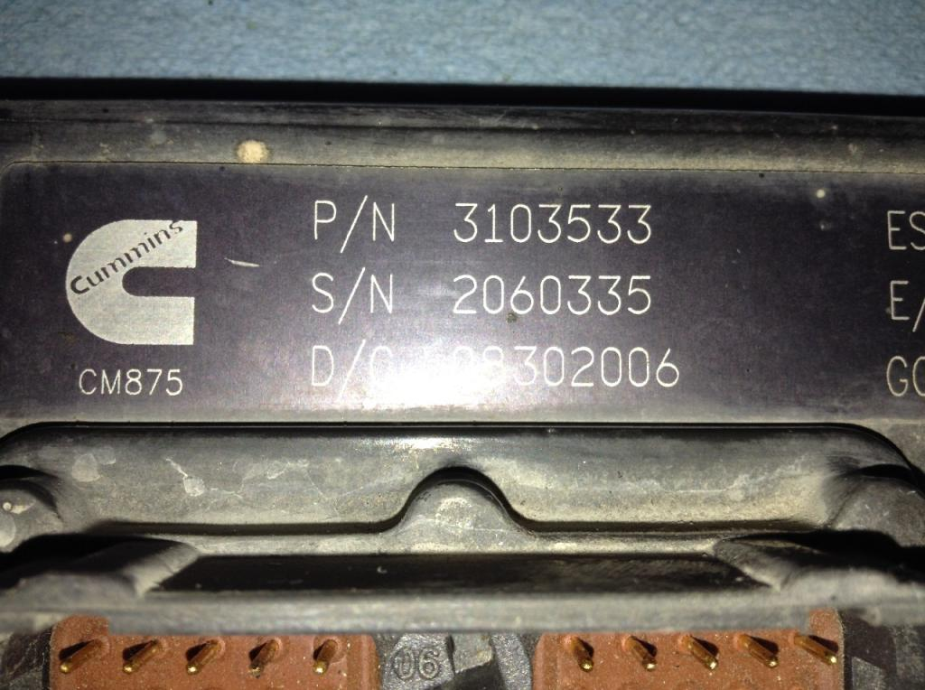 Used Engine Control Module (ECM) for   1000.00 for sale-57204101