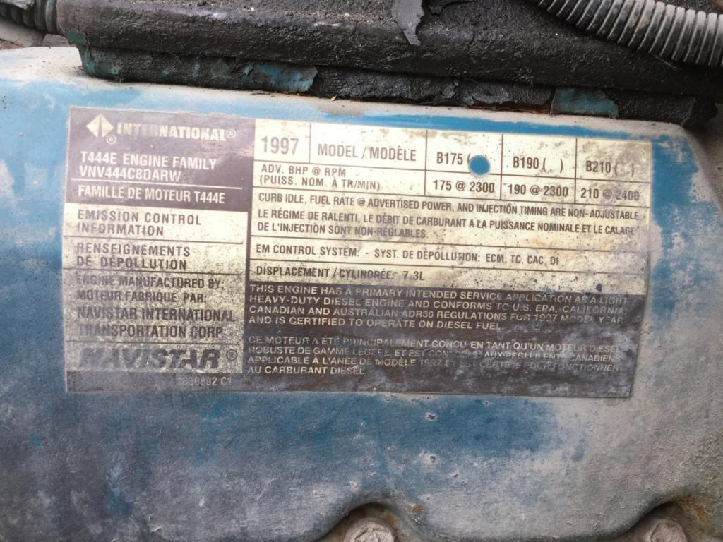 Used Engine Assembly for 1997 INTERNATIONAL 4700 3500.00 for sale-57191401