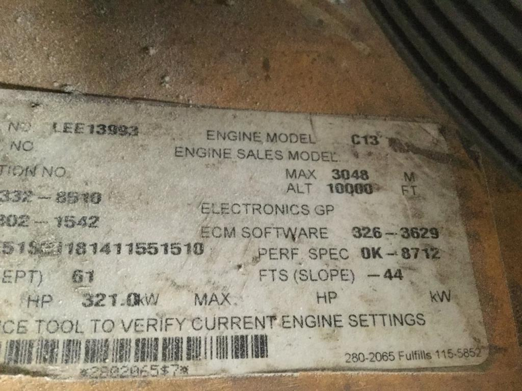Used Engine Assembly for 2010 PETERBILT 386 9000.00 for sale-57196951