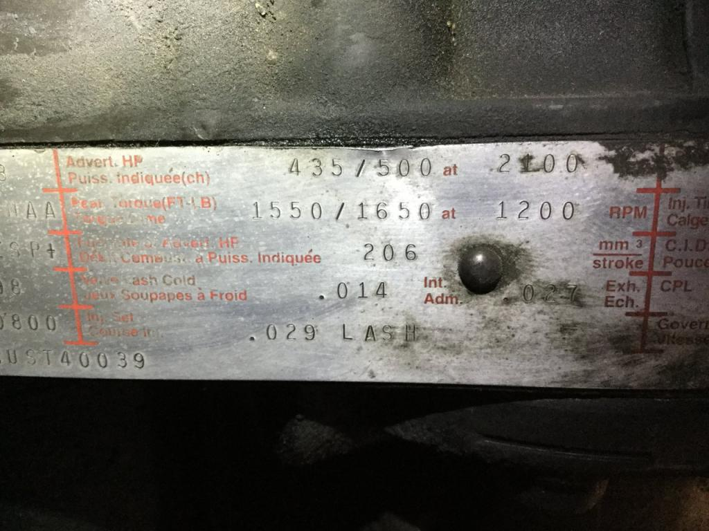 Used Engine Assembly for 1999 INTERNATIONAL 9400 5500.00 for sale-57197681