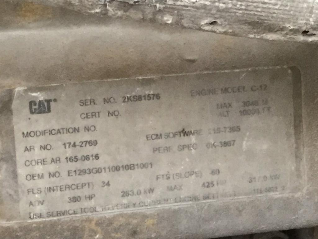 Used Engine Assembly for 2003 KENWORTH T600 6500.00 for sale-57195371