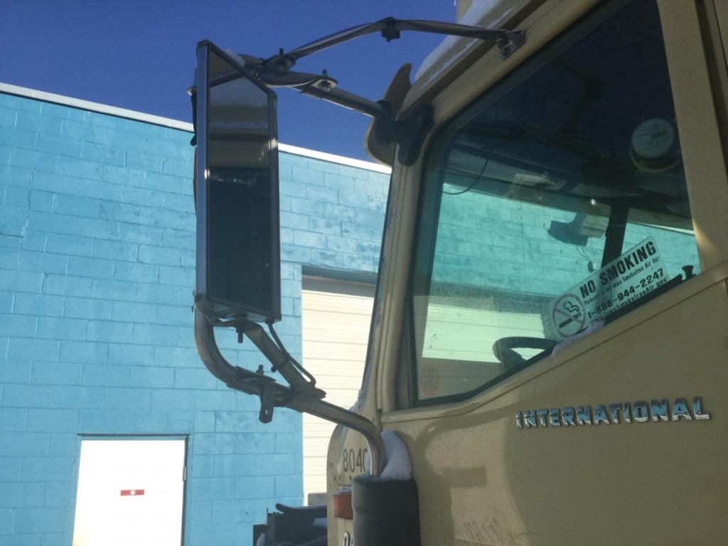 Used Door Mirror for 2003 INTERNATIONAL 9400 150.00 for sale-57186771