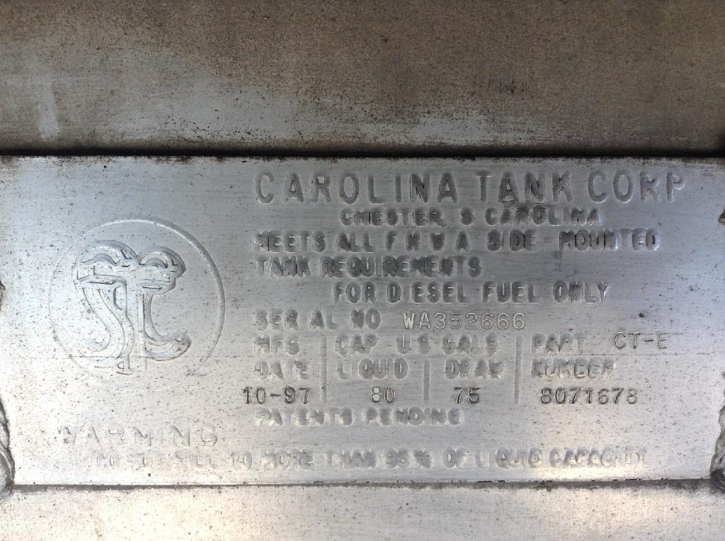 Used Fuel Tank for 1998 VOLVO VNL 350.00 for sale-57278961