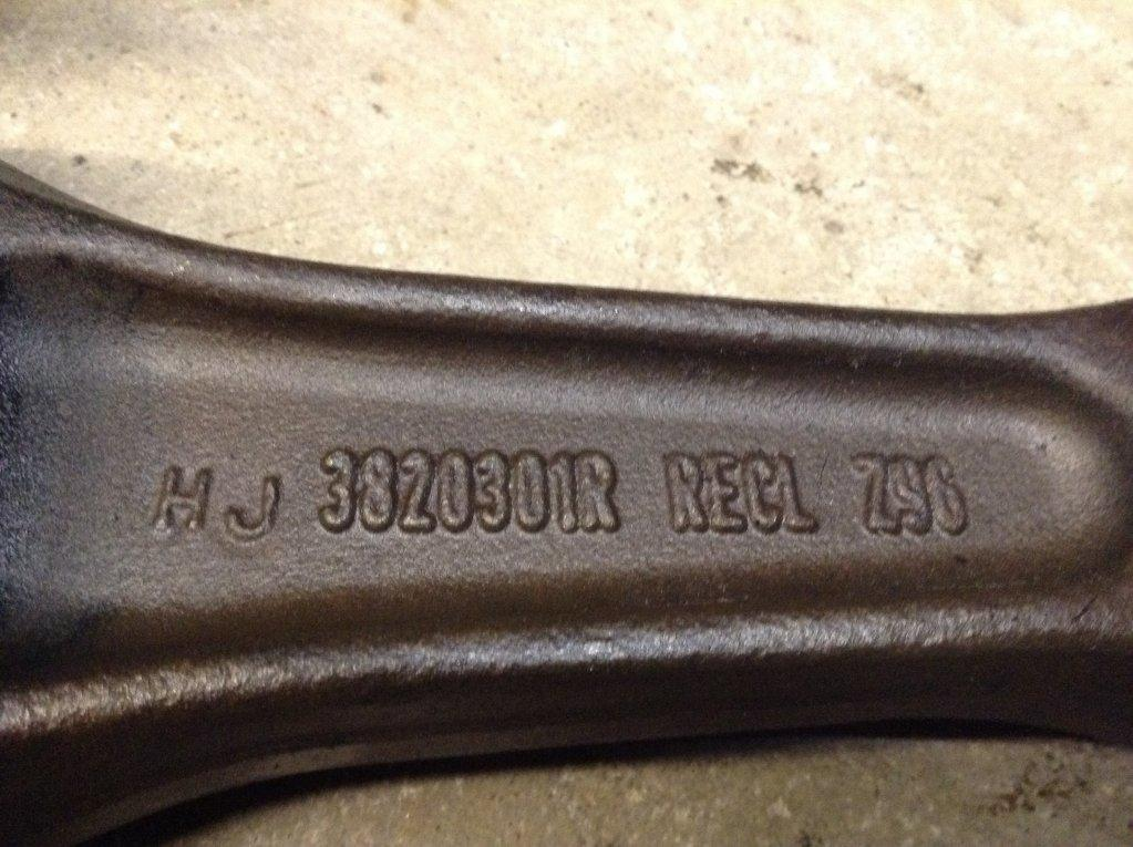 Used Engine Rod for 1993 INTERNATIONAL 8200 100.00 for sale-57212551