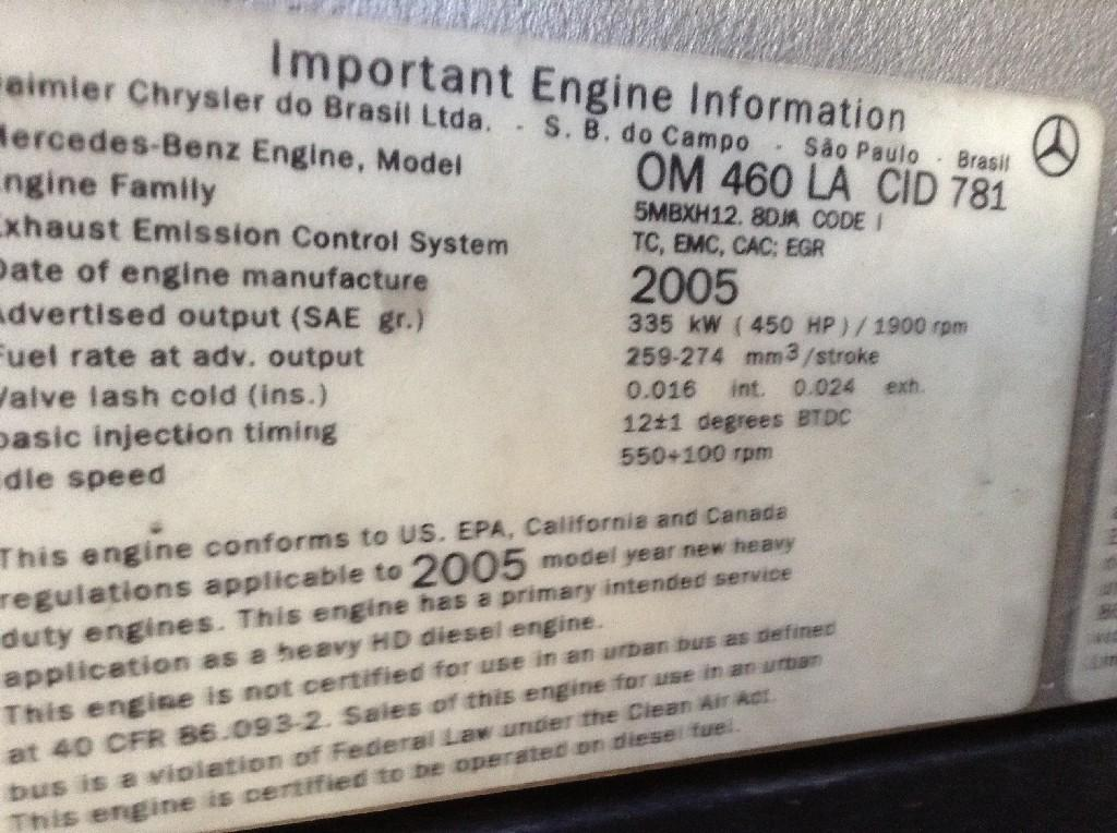 Used Engine Assembly for 2006 STERLING A9513 5500.00 for sale-57197991