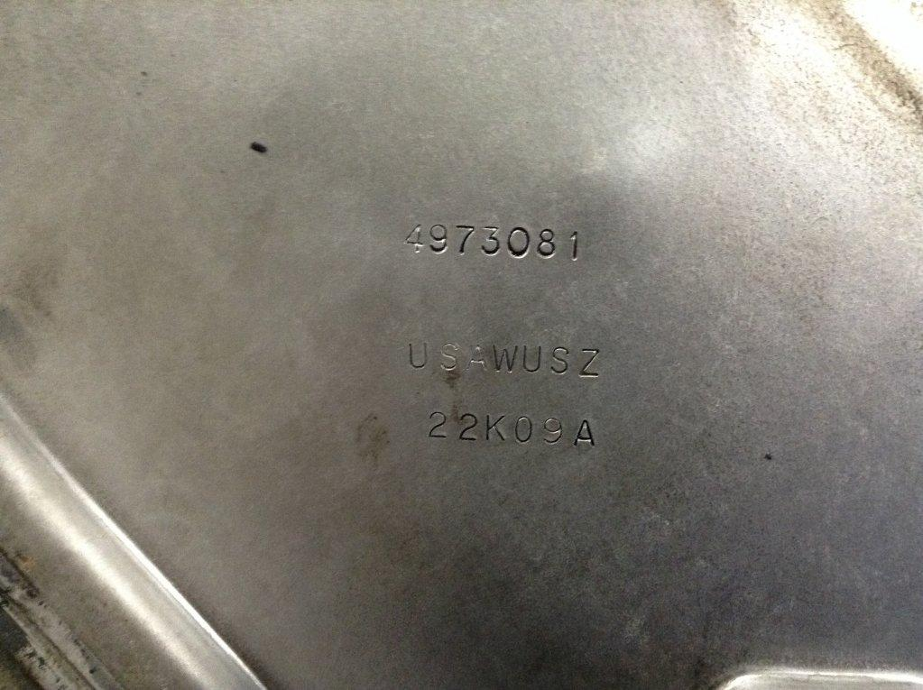 Used Engine Timing Cover for 2010 KENWORTH T660 40.00 for sale-57214211