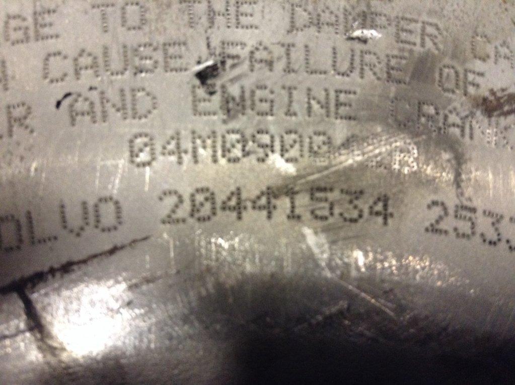 Used Engine Harmonic Balancer for 2004 VOLVO VNL 100.00 for sale-57205741