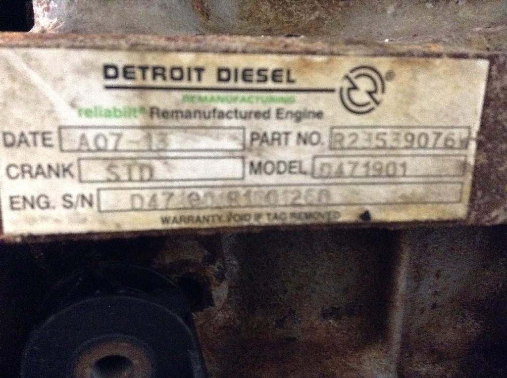 Used Engine Assembly for 2010 STERLING A9513 13500.00 for sale-57198111
