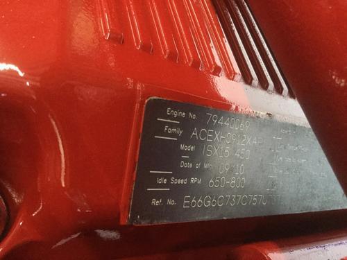 CUMMINS ISX15 EPA 10 ENGINE ASSEMBLY