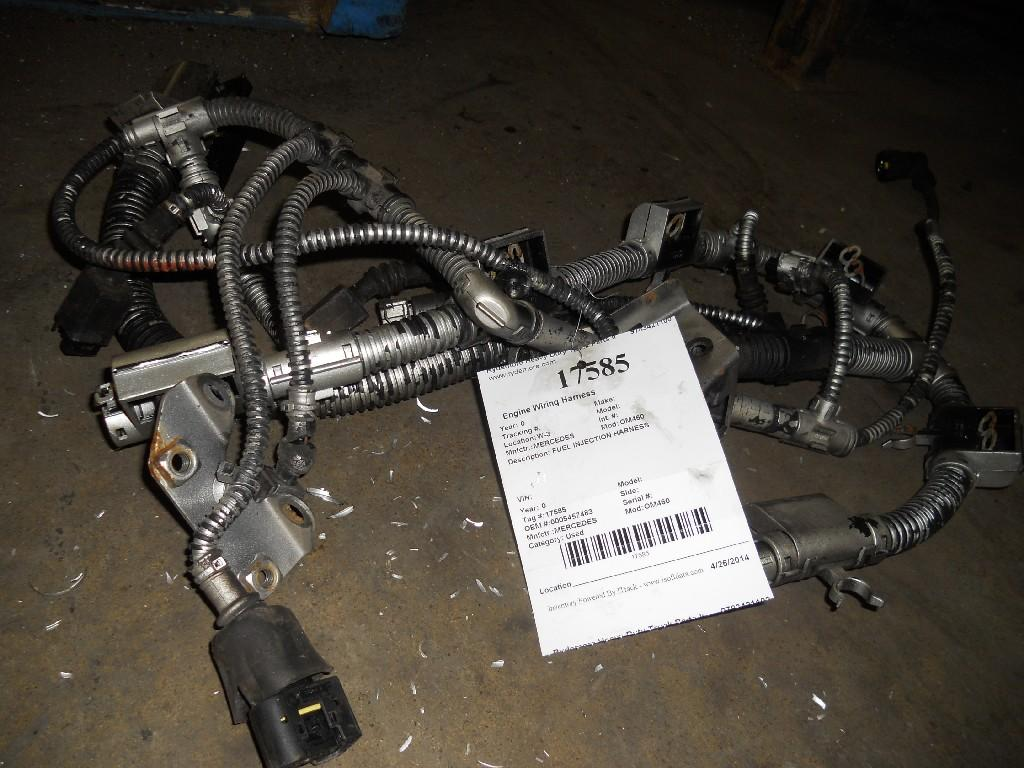 MERCEDES OM460 Engine Wiring Harness
