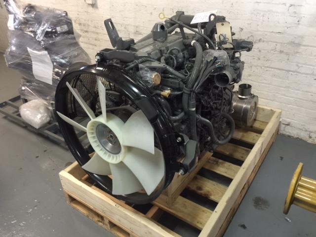 ISUZU 4HK1XYGV Engine Assembly