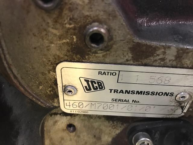 JCB MISC. Transmission Assembly