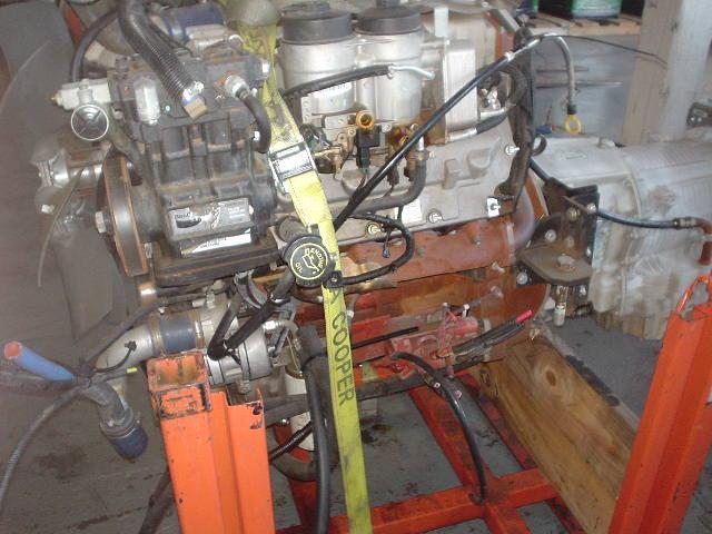 INTERNATIONAL MFX7 Engine Assembly