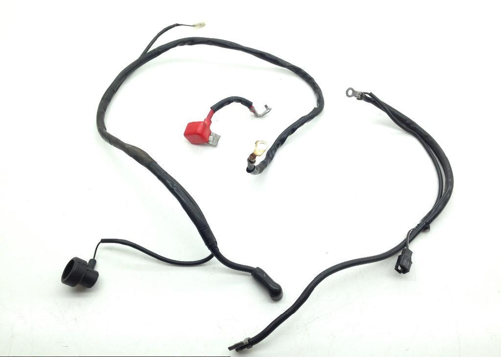 Positive Negative Battery Starter Wires 2007 Suzuki SV650S