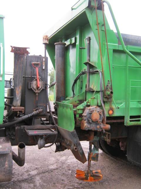BWS Manufacturing Sander dump body  (All season) Equipment (Mounted)