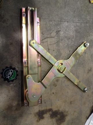 Door Window Regulator, Front
