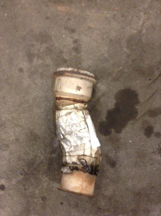 VOLVO VNL670 Exhaust Pipe