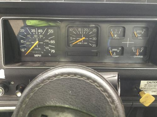 FORD F7000 Instrument Cluster