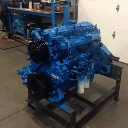 INTERNATIONAL DT466C Engine Assembly