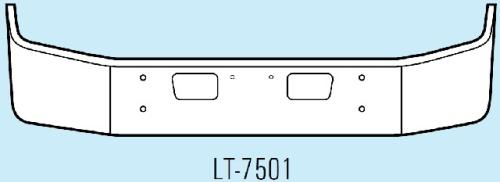 STERLING L7501 Bumper Assembly, Front