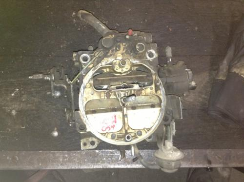 GM 350 Carburetor
