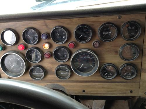 WESTERN STAR TRUCKS 5900 Instrument Cluster