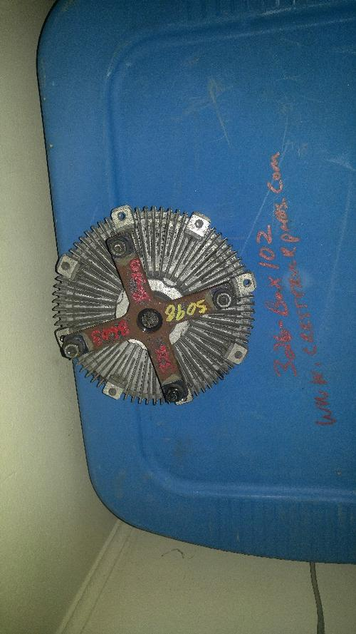 ISUZU 4HK1TC Fan Clutch