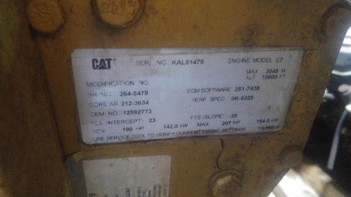 CAT C-7 Oil Pan