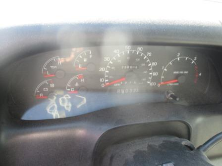 FORD F650SD (SUPER DUTY) Instrument Cluster
