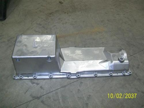 CAT C15 (SINGLE TURBO) Oil Pan