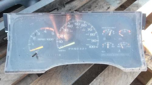 CHEVROLET C3500HD Instrument Cluster