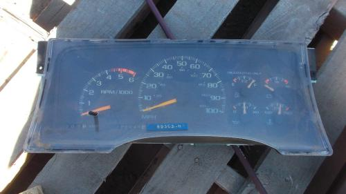 CHEVROLET 3500 SERIES (99-DOWN) Instrument Cluster