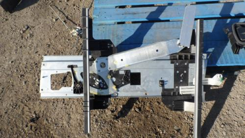 INTERNATIONAL 4300 Door Window Regulator, Front