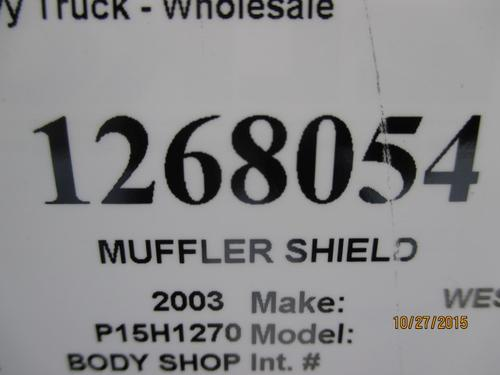 WESTERN STAR 4900 Muffler Shield