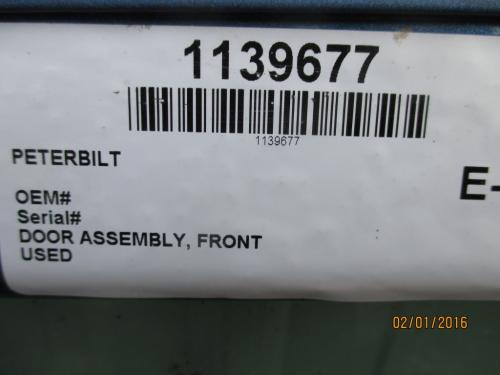 PETERBILT 367 Door Assembly, Front
