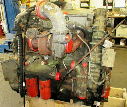 Detroit Series 50 Engine Assembly