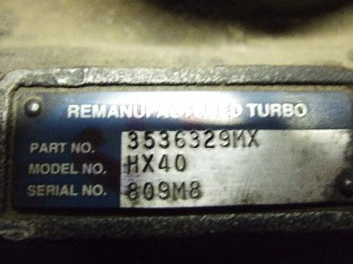 CUMMINS 8.3 Turbocharger / Supercharger