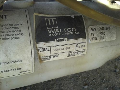 WALTCO  Equipment (Mounted)