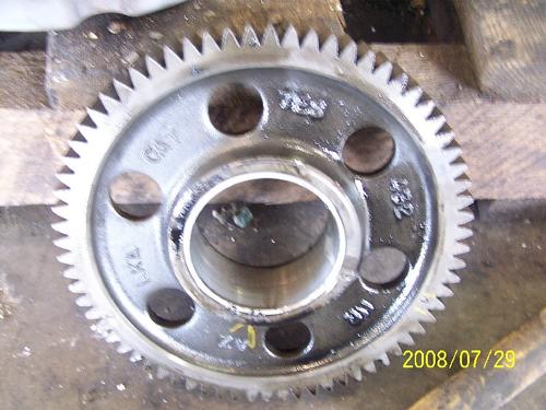 CAT 3176 Timing Gears